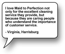 House Cleaning Testimonial