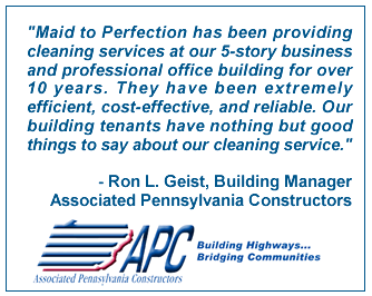Commercial Cleaning Testimonial